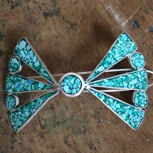 Accessories - Genuine Turquoise Barrette